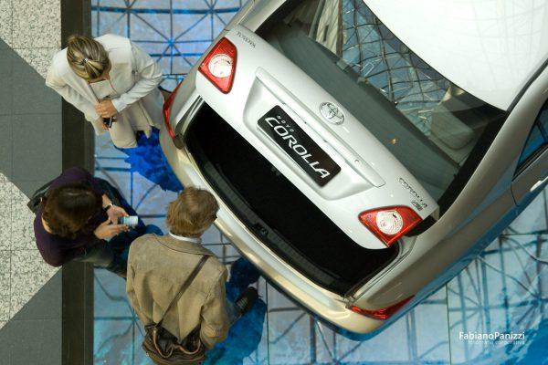 Lançamento Toyota Corolla no Aeroporto Salgado Filho.
