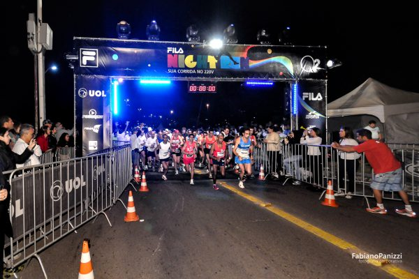 Fila Night Run Porto Alegre