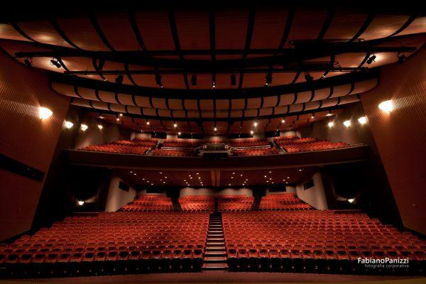 Arquitetura do Teatro Feevale.