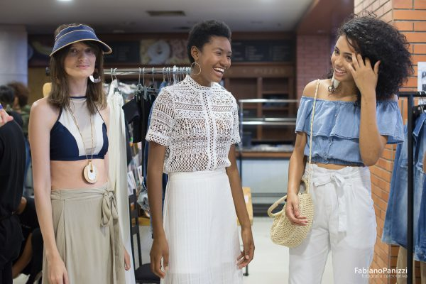 Bastidores RENNER durante o Donna Fashion Iguatemi.