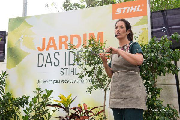Evento Jardim das Ideias para STIHL.